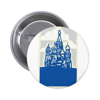 Kremlin in Moscow Button