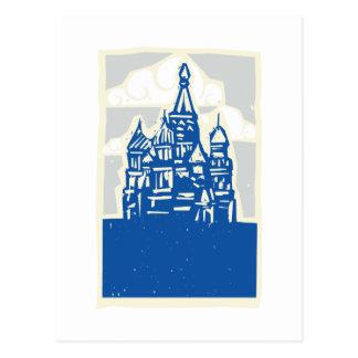 Kremlin in Moscow Postcard