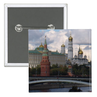 Kremlin in Moscow, Russia button