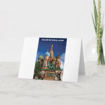 Kremlin spires card