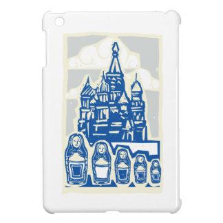 Kremlin with Nested Dolls iPad Mini Covers
