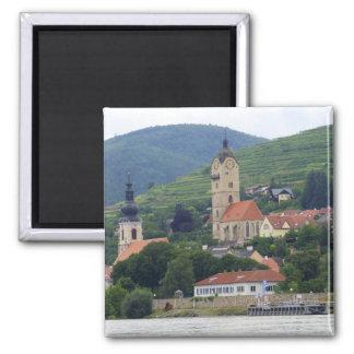 Krems an der Donau 2 Inch Square Magnet