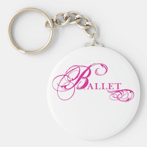 Kresday Flare Ballet Keychains