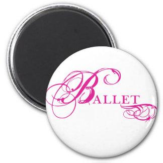 Kresday Flare Ballet 2 Inch Round Magnet