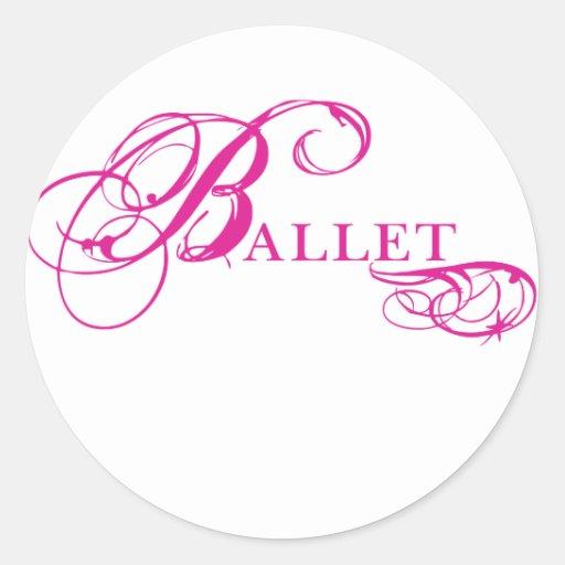 Kresday Flare Ballet Sticker