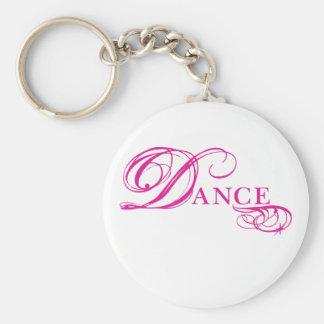 Kresday Flare Dance Basic Round Button Keychain