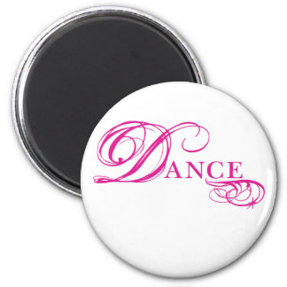Kresday Flare Dance 2 Inch Round Magnet