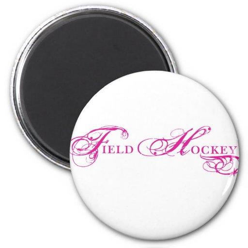 Kresday Flare Field Hockey 2 Inch Round Magnet