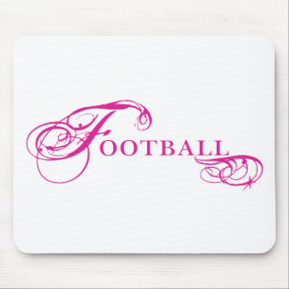 Kresday Flare Football Mouse Pad