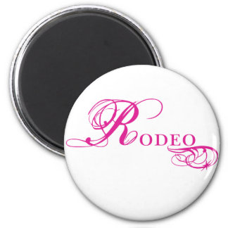 Kresday Flare Rodeo 2 Inch Round Magnet