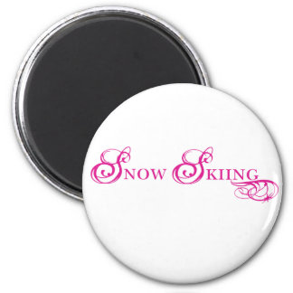 Kresday Flare Snow Skiing Magnet