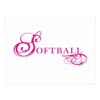 Kresday Flare Softball Postcard