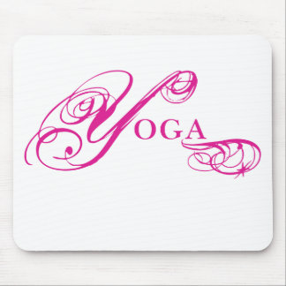 Kresday Flare Yoga Mouse Pad