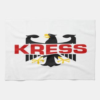 Kress Surname Kitchen Towel