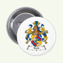 Kretz Family Crest Button