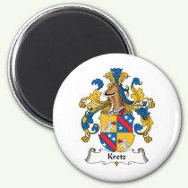 Kretz Family Crest Magnet