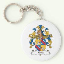 Kretz Family Crest Keychain