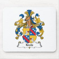 Kretz Family Crest Mousepad