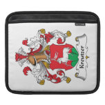 Kreutzer Family Crest iPad Sleeve