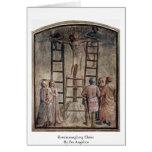 Kreuzannaglung Cristo por Fra Angelico Felicitaciones