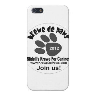 Krewe De Paws Logo Items Covers For iPhone 5