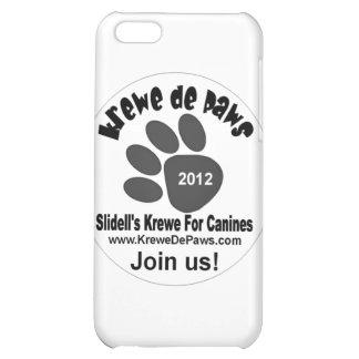 Krewe De Paws Logo Items iPhone 5C Cases