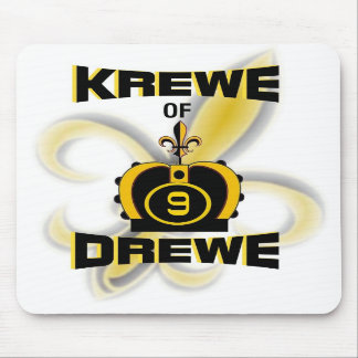 Krewe of Drewe Mouse Pad
