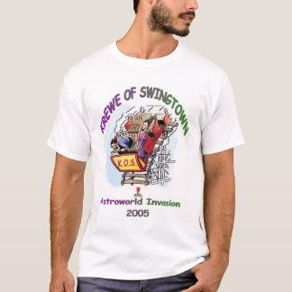 Krewe Of Swingtown Astroworld 2005 T-Shirt