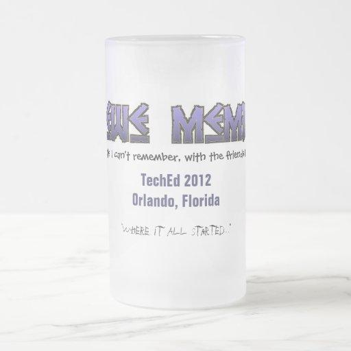 Krewe TechEd 2012 Beer Mug - Pre Launch
