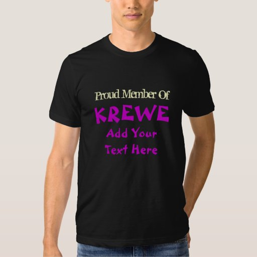 Krewe 'YOU' T Shirt