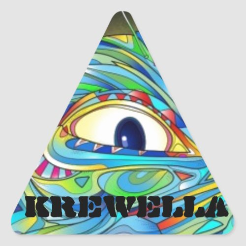 Krewella Illuminati sticker pack