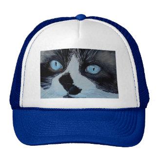 Kricket el gato de Ragdoll Gorro De Camionero