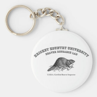 Kricket Kountry University, Beaver Research Lab Key Chain