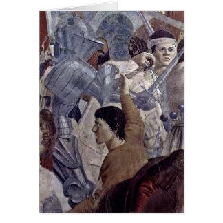 Krieger By Piero Della Francesca Greeting Card