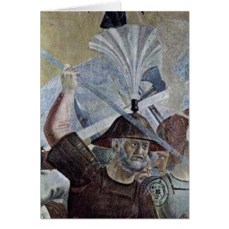 Krieger. By Piero Della Francesca Card