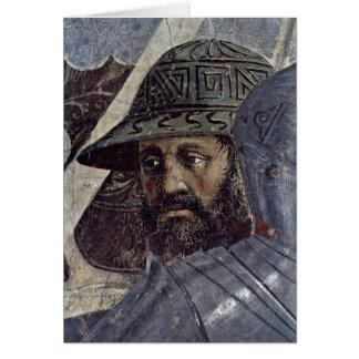 Krieger. By Piero Della Francesca Cards