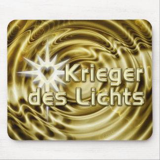 Krieger des Lichts | golden waves Mouse Pad