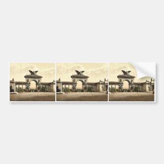 Krieger Monument, Thor, Cassel Ave, Cassel (i.e., Bumper Stickers