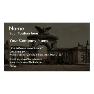 Krieger Monument, Thor, Cassel Ave, Cassel (i.e., Double-Sided Standard Business Cards (Pack Of 100)