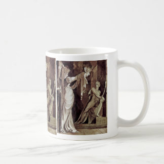 Kriemhild Shows The Main Hagen Gunther By Füssli J Classic White Coffee Mug