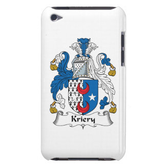 Kriery Family Crest Barely There iPod Case