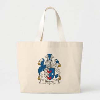 Kriery Family Crest Jumbo Tote Bag