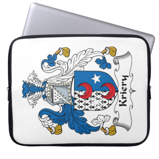 Kriery Family Crest Laptop Computer Sleeves