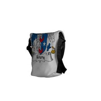 Kriery Family Crest Messenger Bag