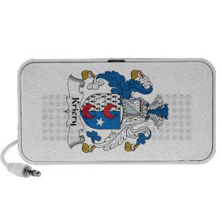 Kriery Family Crest Mini Speakers