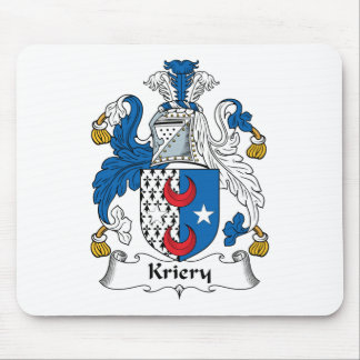 Kriery Family Crest Mouse Pad