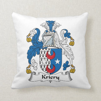 Kriery Family Crest Pillow