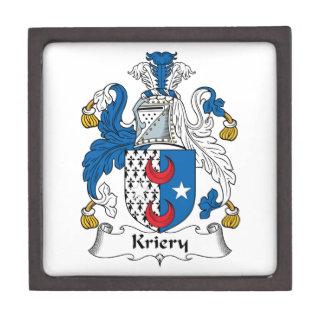 Kriery Family Crest Premium Jewelry Box