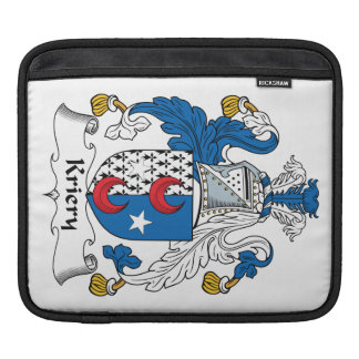 Kriery Family Crest Sleeves For iPads