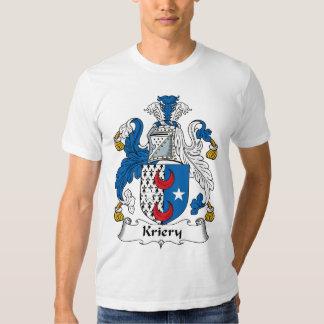 Kriery Family Crest T Shirt